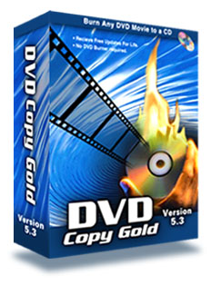 DVD Copy Gold - Copy DVD to Movies to CD!